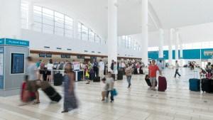 LPIA Survey Pic 1- passengers in terminal